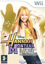Hannah Montana: Il Tour Mondiale Wii cover (RHQP4Q)
