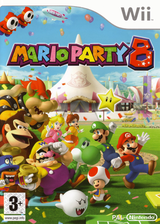 Mario Party 8 Wii cover (RM8P01)