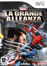 Marvel: La Grande Alleanza Wii cover (RMUP52)