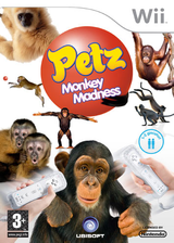 Petz: Monkey Madness Wii cover (RP6P41)