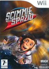 Scimmie nello Spazio Wii cover (RP9PRS)