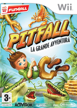Pitfall: La Grande Avventura Wii cover (RPFP52)