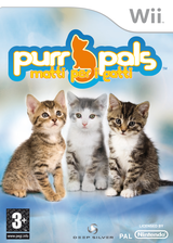 Purr Pals: Matti per i gatti Wii cover (RPVPKM)