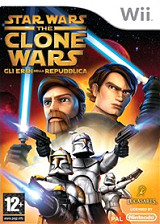 Star Wars The Clone Wars: Gli Eroi della Repubblica Wii cover (RQLP64)