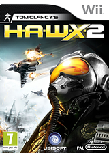 Tom Clancy's H.A.W.X. 2 Wii cover (RTAP41)