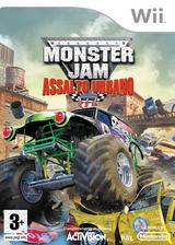 Monster Jam: Assalto Urbano Wii cover (RUAP52)