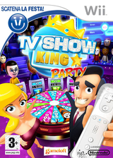 TV Show King Party Wii cover (RXKPGL)