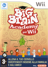 Big Brain Academy per Wii Wii cover (RYWP01)