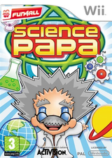 Science Papa Wii cover (RZEP52)