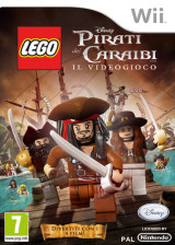 LEGO Pirati dei Caraibi:Il Videogioco Wii cover (SCJP4Q)