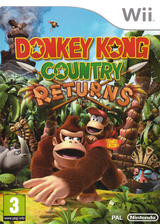 Donkey Kong Country Returns Wii cover (SF8P01)