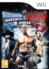 WWE SmackDown vs. Raw 2011 Wii cover (SMRP78)