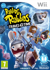 Raving Rabbids: Travel in Time Wii cover (SR4P41)