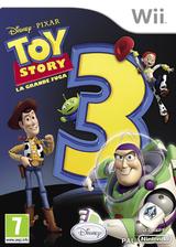Toy Story 3: La Grande Fuga Wii cover (STSP4Q)