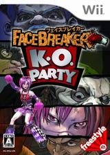 フェイスブレイカー K.O. パーティー Wii cover (RFQJ13)