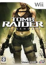 トゥームレイダー アンダーワールド Wii cover (RH8JEL)
