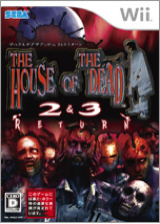 ザ ハウス オブ ザ デッド 2&3 リターン Wii cover (RHDJ8P)