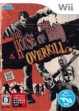 ザ ハウス オブ ザ デッド: オーバーキル Wii cover (RHOJ8P)