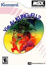 Yie Ar Kung-Fu 2 VC-MSX cover (XADJ)