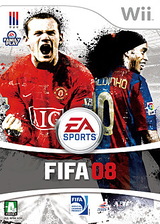 FIFA 08 Wii cover (RF8K69)
