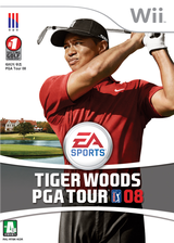 타이거 우즈 PGA Tour 08 Wii cover (RT8K69)