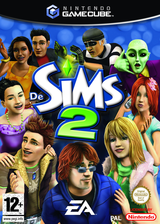 De Sims 2 GameCube cover (G4ZP69)