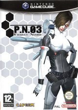 P.N.03 GameCube cover (GPNP08)