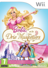 Barbie en De Drie Musketiers Wii cover (R23P52)