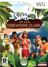 De Sims 2: Op een Onbewoond Eiland Wii cover (R42P69)