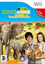 Red De Aarde:Jouw missie: Verzorg wilde dieren Wii cover (R8VP41)