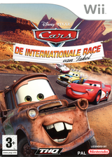 Cars: De Internationale Race van Takel Wii cover (RC2X78)