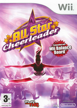 All Star Cheerleader Wii cover (RCXP78)