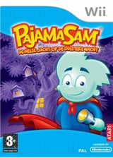 Pajama Sam: De Helse-Jacht Op De Duistere Nacht Wii cover (RJQP70)