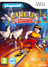 Playmobil Circus:Actie in de ring Wii cover (ROVPHM)