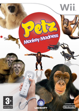 Petz Monkey Madness Wii cover (RP6P41)