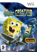 SpongeBob Squarepants: Creatuur van de Krokante Krab Wii cover (RQ4P78)