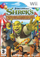 Shrek - Crazy Party Games Wii cover (RRQX52)