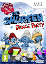 De Smurfen: Dance Party Wii cover (SDUP41)