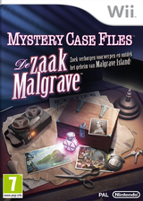 Mystery Case Files: The Malgrave Incident Wii cover (SFIP01)