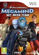 Megamind: Het Mega Team Wii cover (SMGP78)