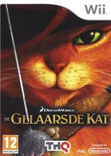 De Gelaarsde kat Wii cover (SSBP78)