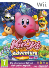 Kirby's Adventure Wii Wii cover (SUKP01)
