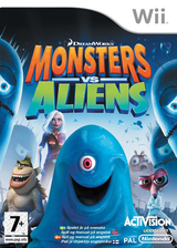 Monsters vs. Aliens Wii cover (RVZP52)