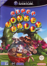 Super Monkey Ball GameCube cover (GMBP8P)