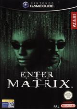 Enter The Matrix GameCube cover (GMXP70)