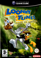 Looney Tunes:Back in Action GameCube cover (GLNP69)