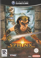 Sphinx and the Cursed Mummy GameCube cover (GXPP78)