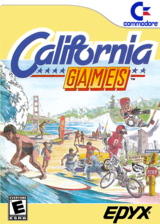 California Games VC-C64 cover (C97E)