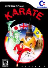 International Karate VC-C64 cover (C9YE)