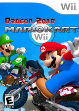 Mario Kart Wii Dragon Road CUSTOM cover (CMKE01)